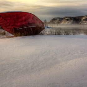 The Red Boat by Jakub Šišák (jakubsisak)) on 500px.com