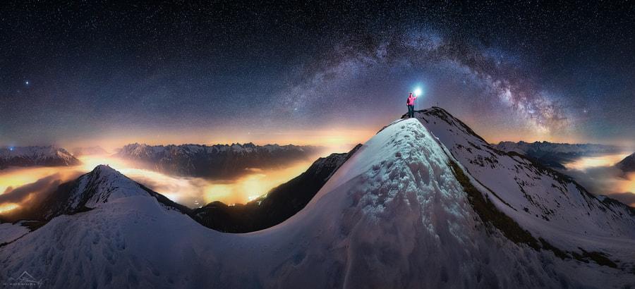 On the ridge by Nicholas Roemmelt on 500px.com
