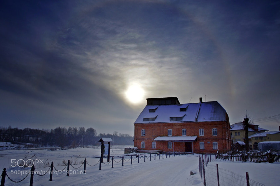Photograph solar halo-2 by Alma Kerpauskienė on 500px