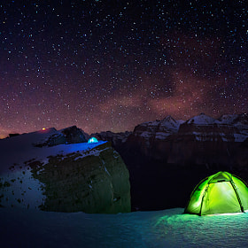 Night Camping by Max Rive (maxrivefotograaf)) on 500px.com