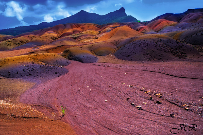 Photograph Seven-Coloured Earth of Chamarel. Mauritius by Jenny Rainbow on 500px