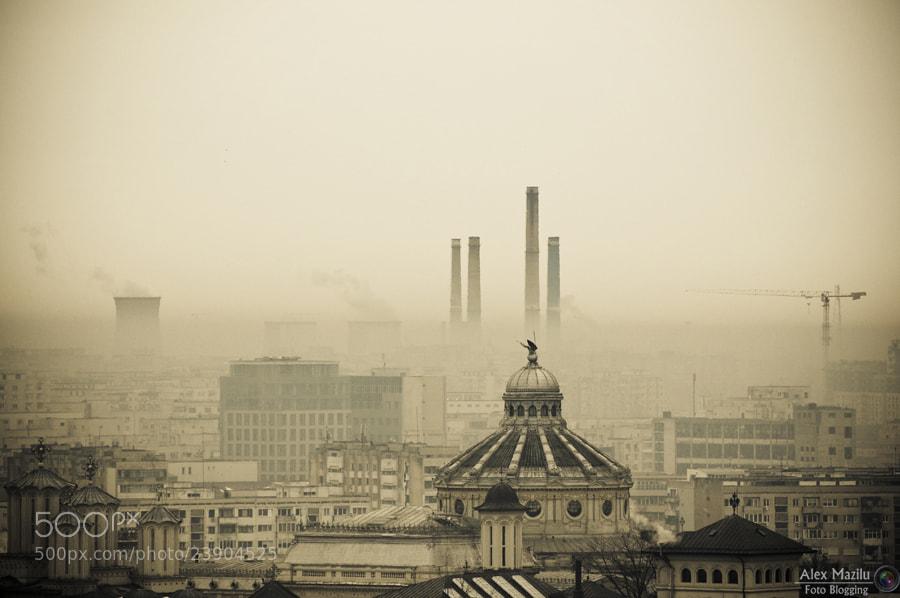 Photograph A crowded big city by Alex Mazilu on 500px