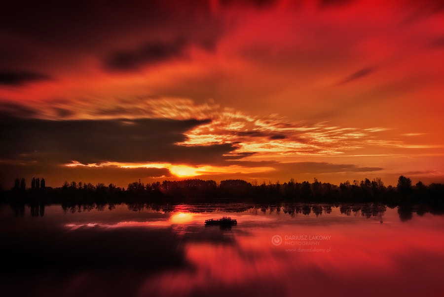 Photograph Heaven burns red by Dariusz Łakomy on 500px