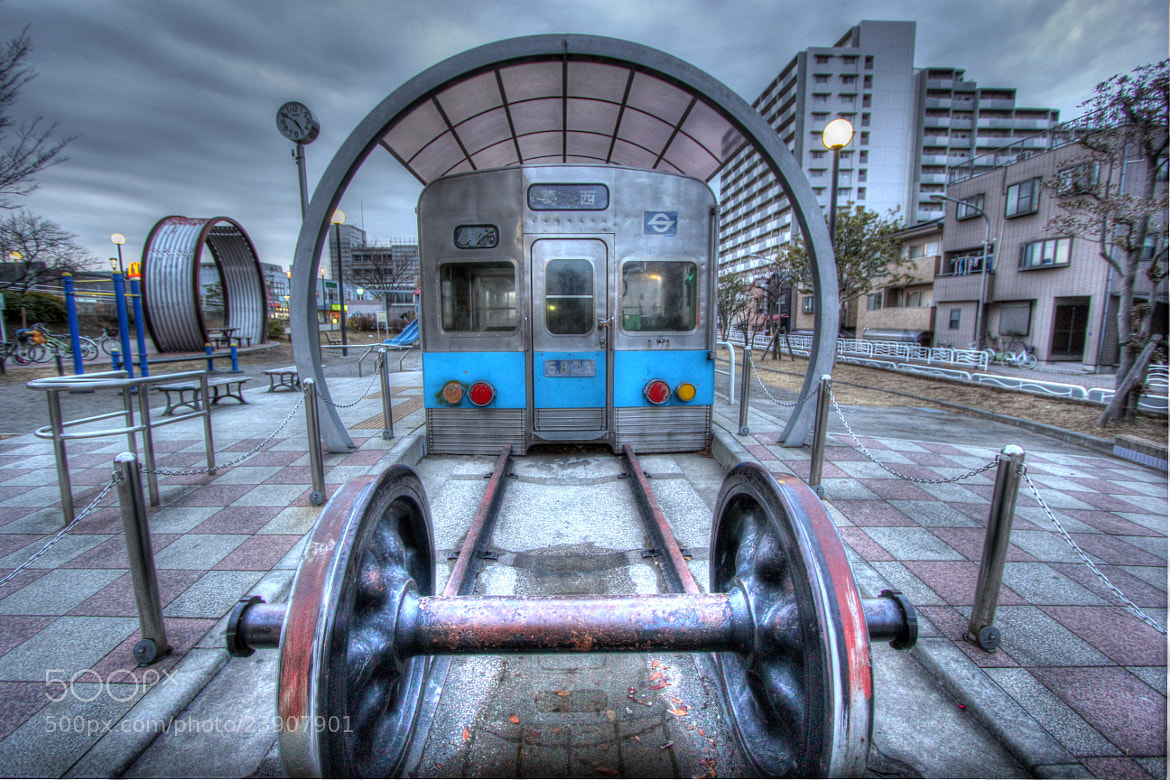 Photograph Playground Train by Rio Akasaka on 500px