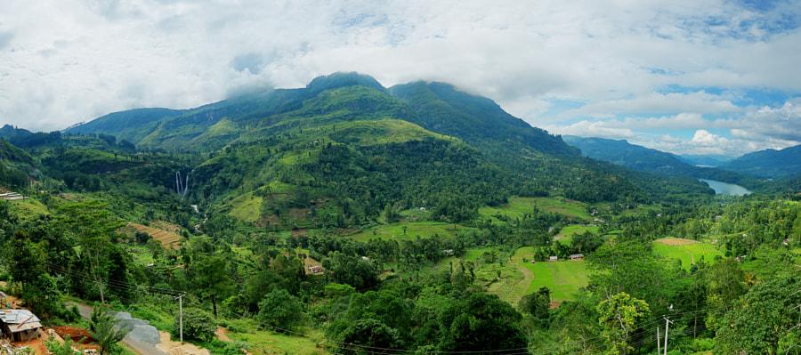 Ramboda Valley and Waterfalls