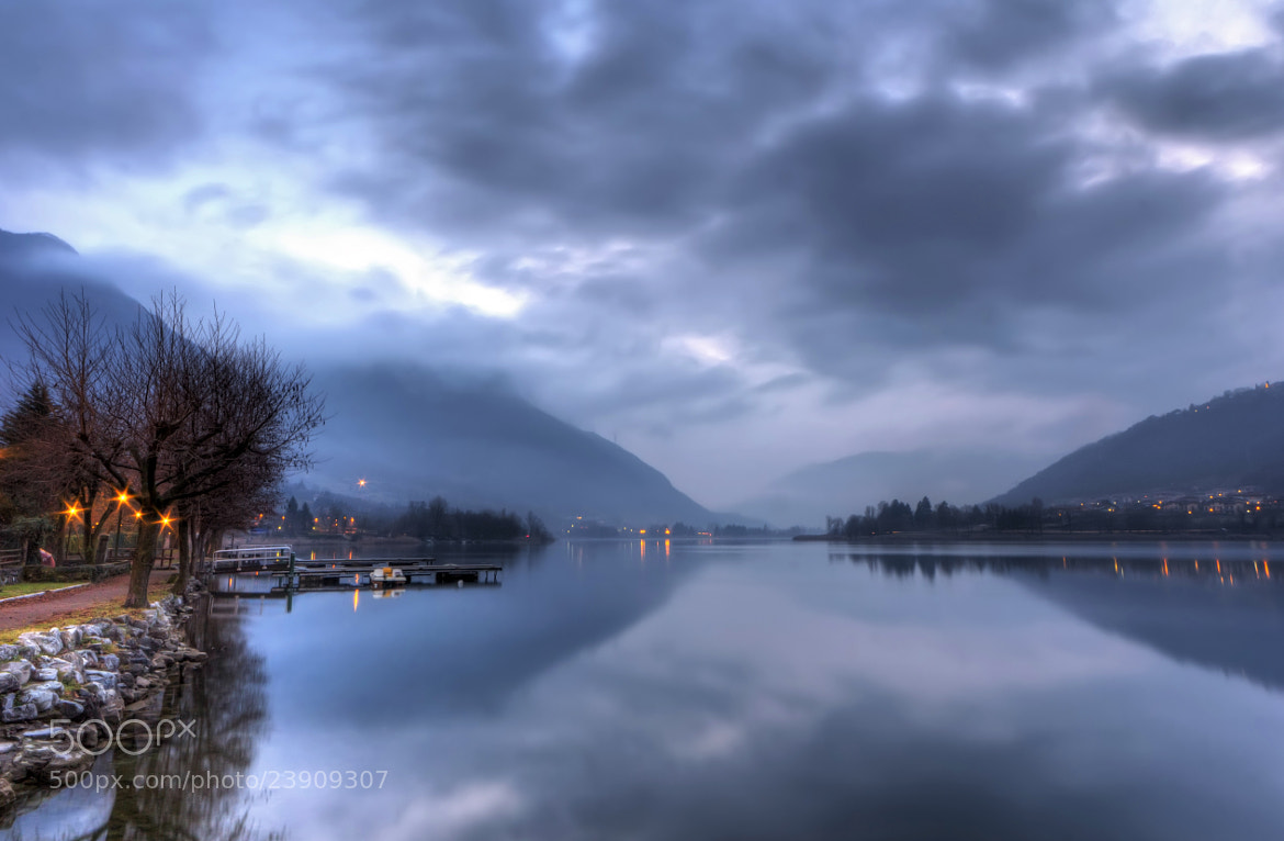 Photograph Twilight on the lake II by Devid Strazzante on 500px