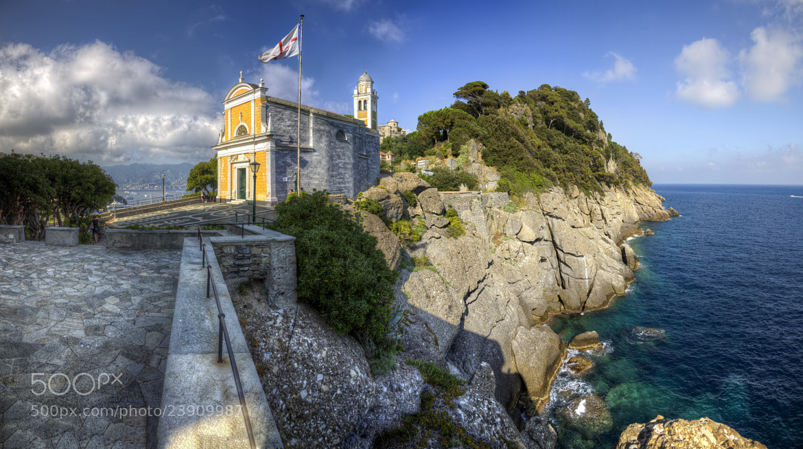 Photograph Church of San Giorgio - Portofino by Laimonas Ciūnys on 500px