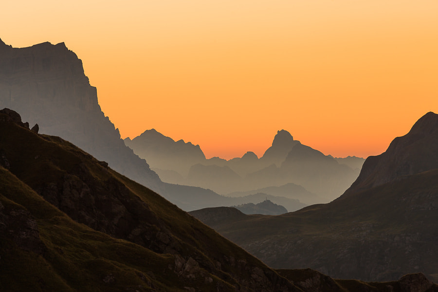 Photograph Morning Mountains by Hans Kruse on 500px