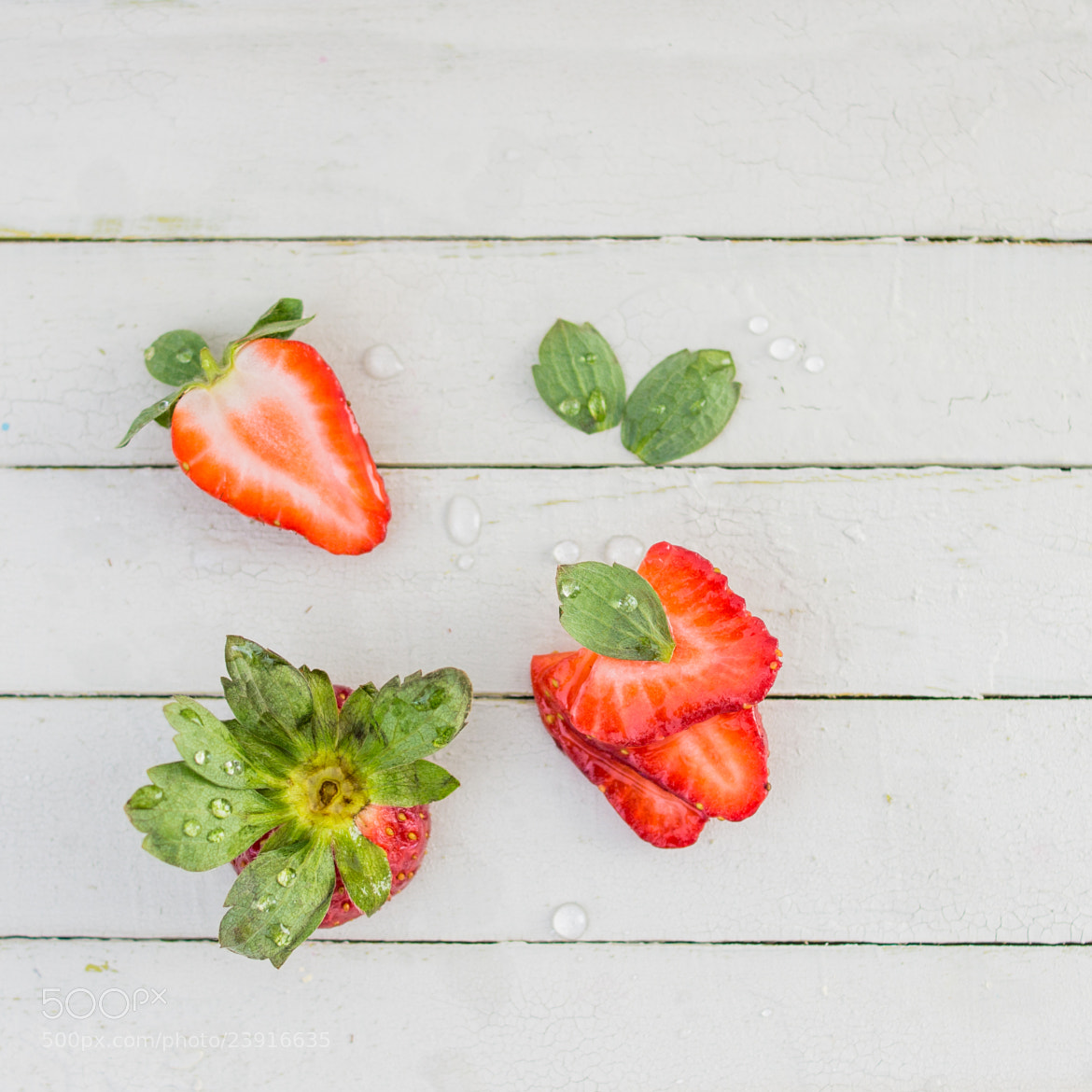 Photograph Fresh Strawberries by Suzanne Clements on 500px