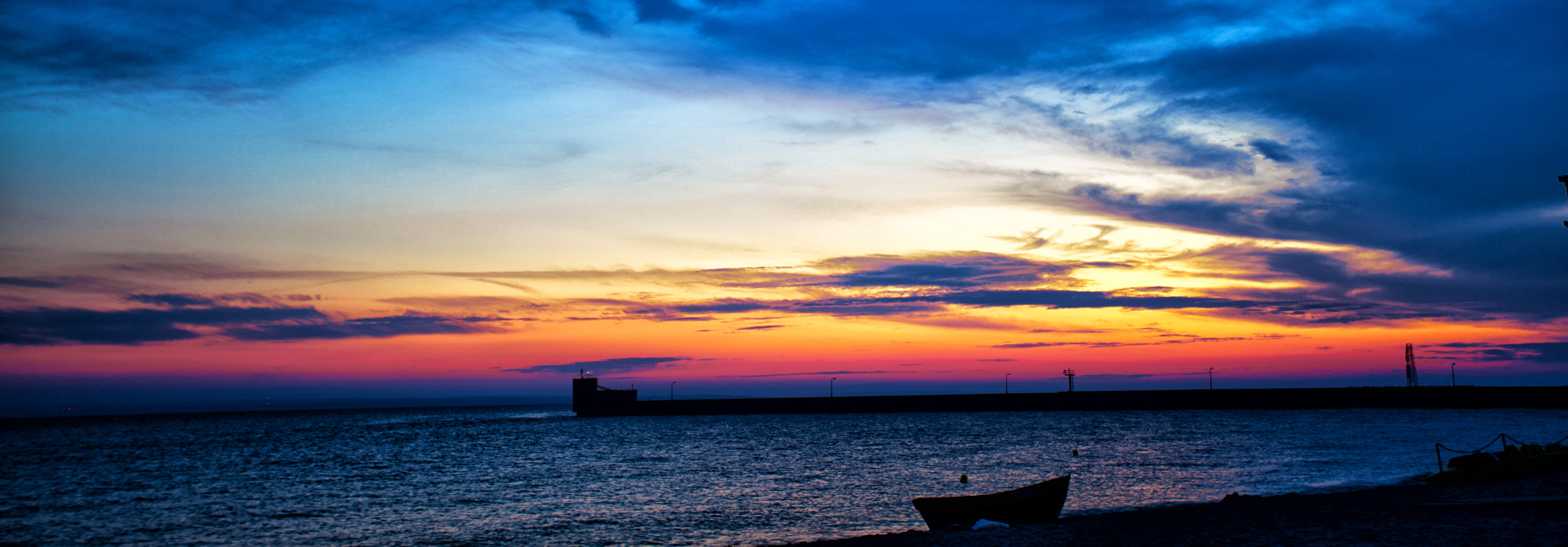 Photograph Sunset at hel by Vivek  on 500px