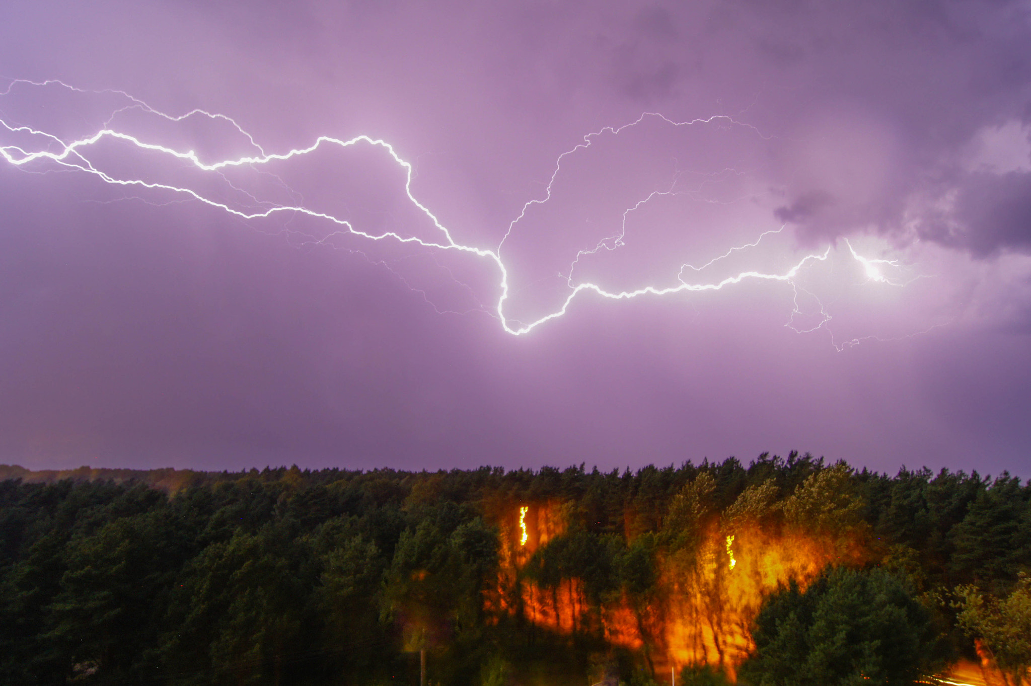 Photograph Lightning by Michał Reich on 500px