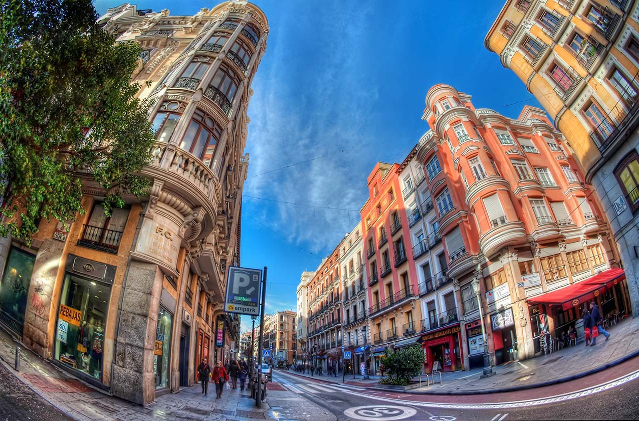 Photograph Colorful Madrid by Giuseppe Sapori on 500px