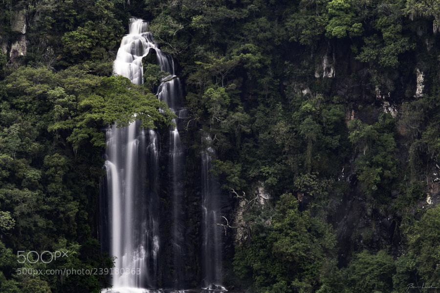Temporary waterfall