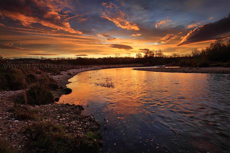Photograph Morning Show at the River by Maxime Courty on 500px