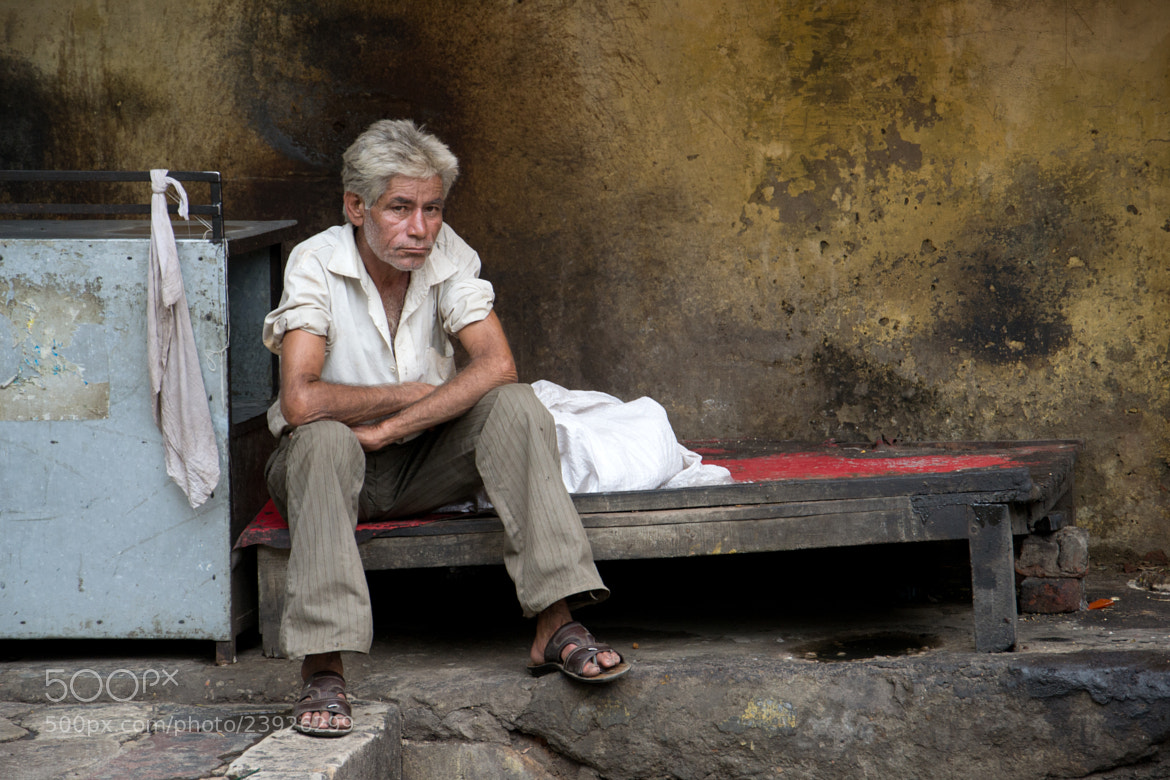 Photograph As poor as only a white man in India can be... by Valerio Gori on 500px