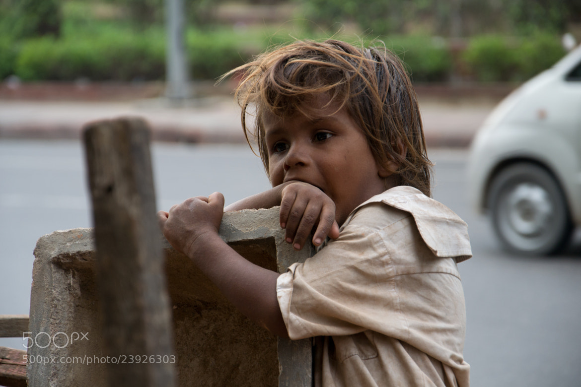 Photograph Indian Kid by Valerio Gori on 500px