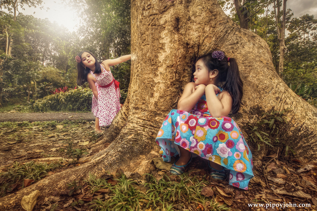 Photograph Hide and Seek HDR Portrait Photography By Pipoyjohn by Pipoy John on 500px