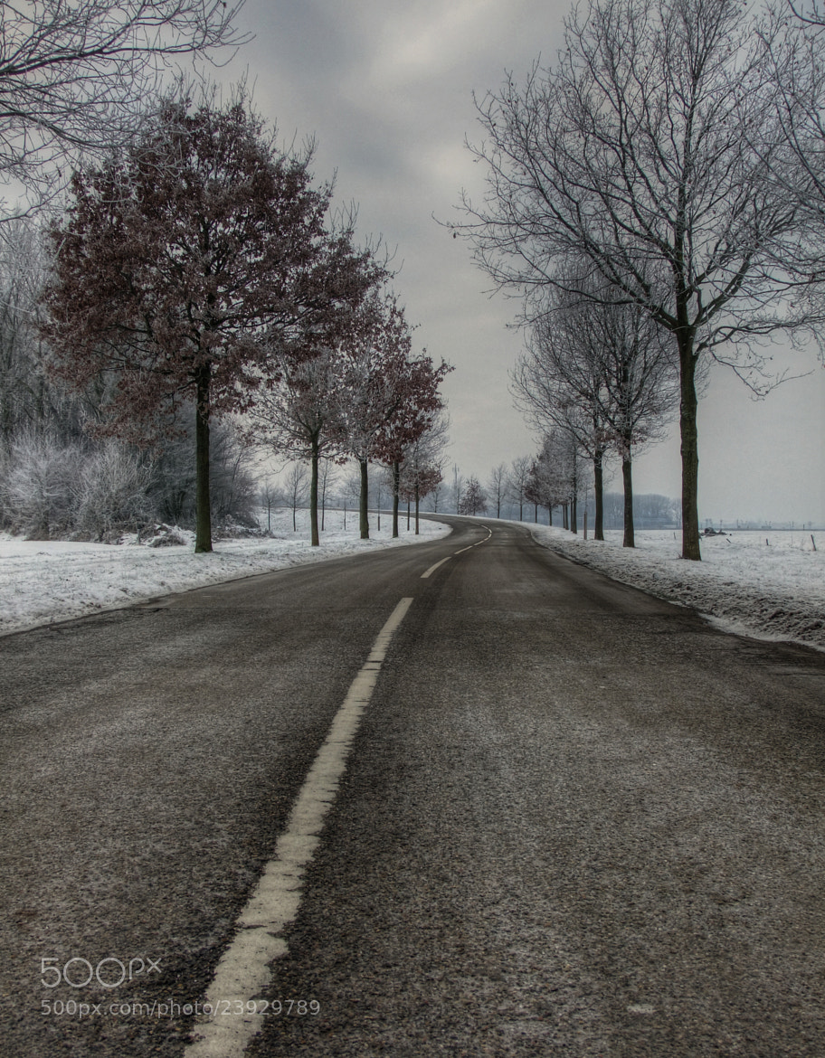 Photograph cold road by Patrick Strik on 500px