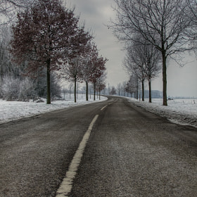 cold road by Patrick Strik (PatrickStrik)) on 500px.com