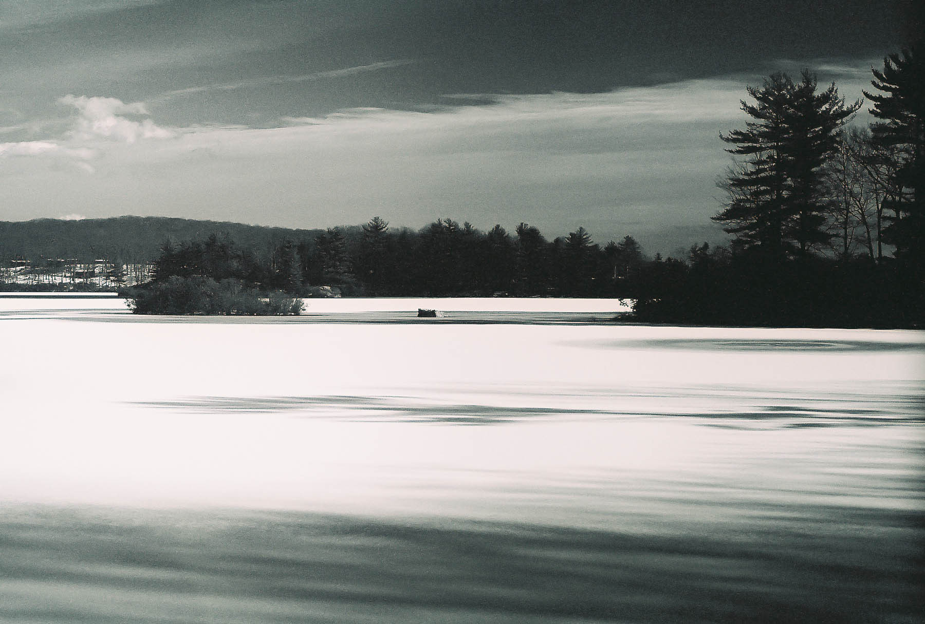 Photograph Frozen Lake by Pete  on 500px