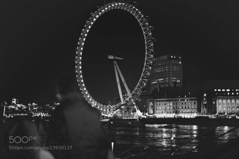Photograph London Eye @ River Thames, London by Abeera Khan on 500px