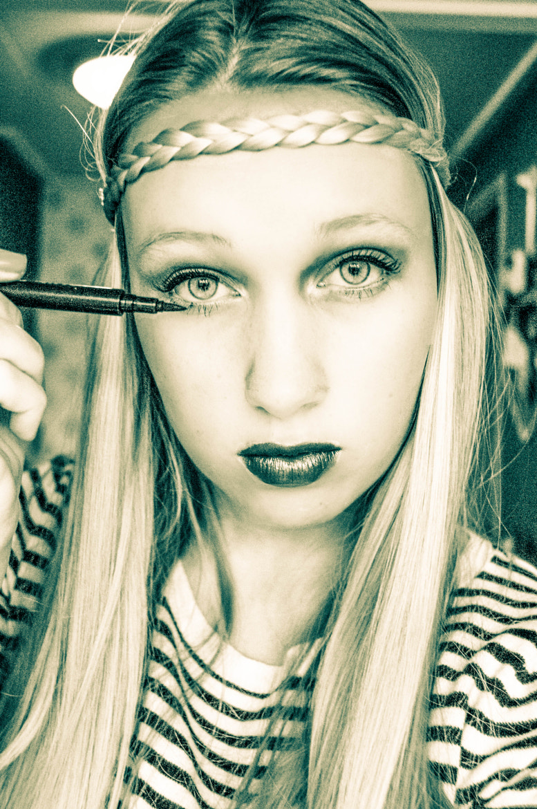 Photograph Beauty portrait for school by Rianne Martens on 500px