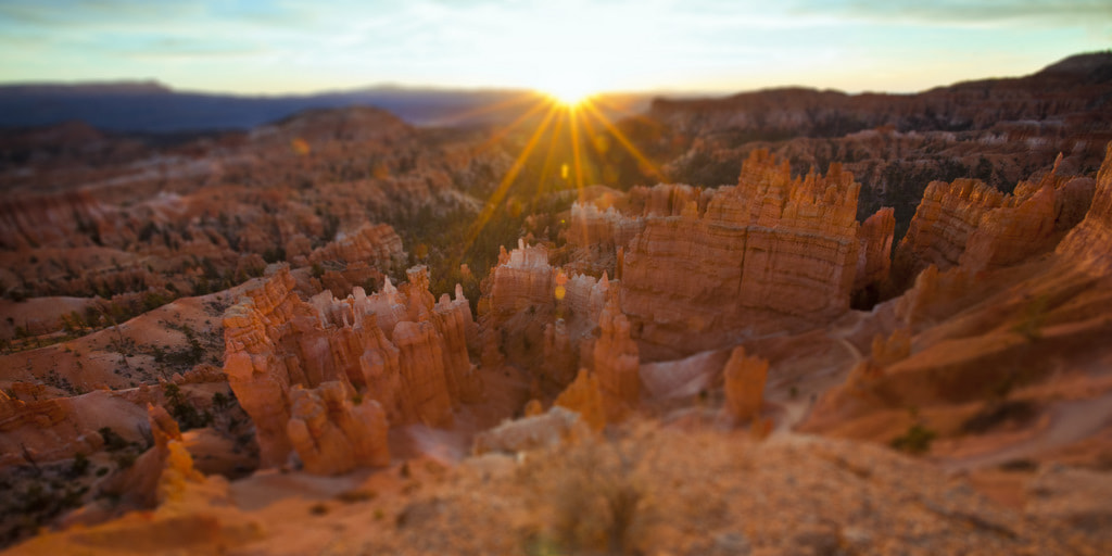 Photograph Small Sunrise over Bryce by Lonnie Shull on 500px