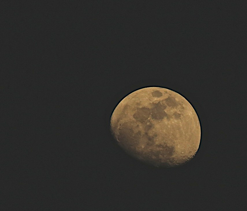 Photograph Winter Moon by James Groce on 500px