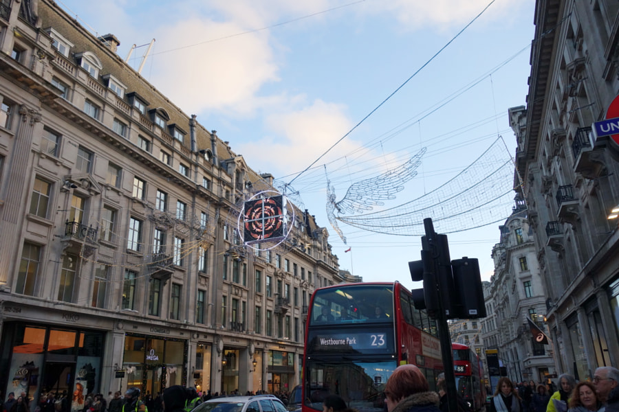 Regent Street, London by Sandra  on 500px.com