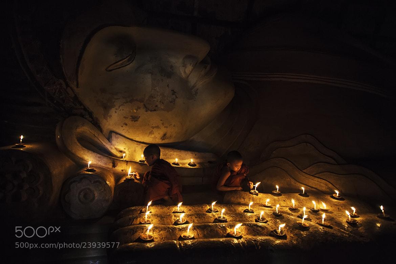 Photograph Sleeping Buddha by apichart sripeng on 500px