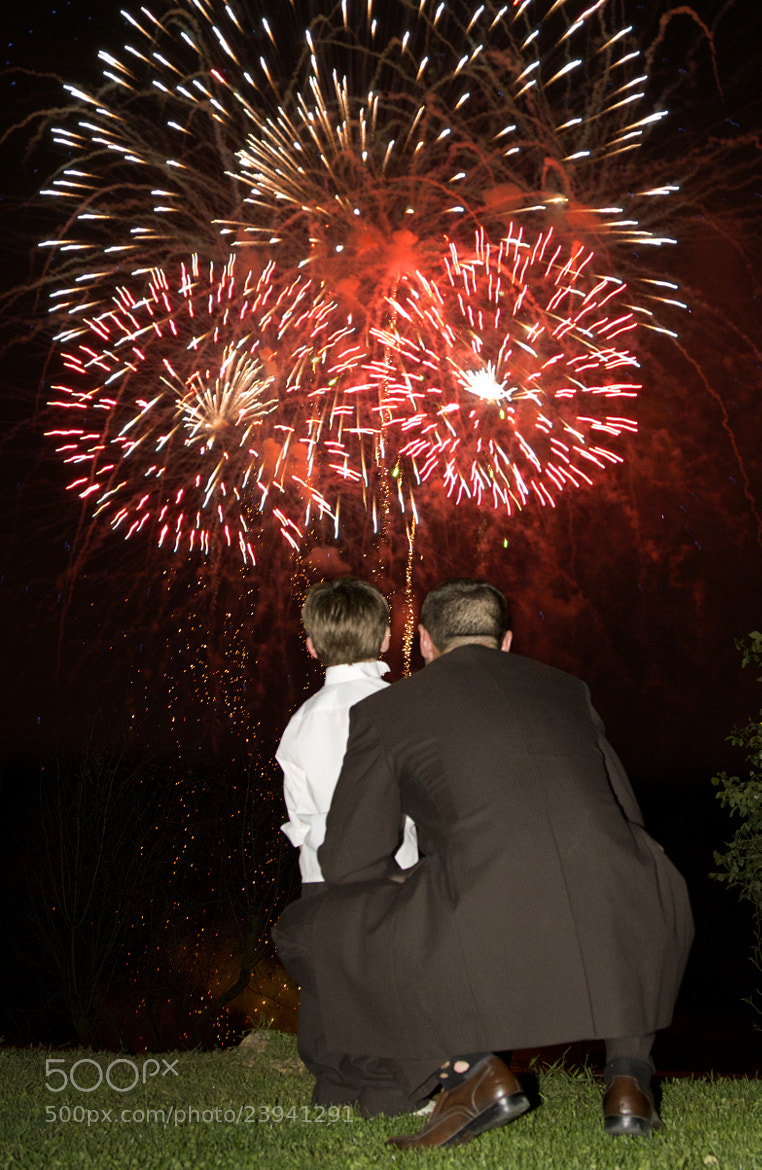 Photograph Wedding Fireworks by David O Sullivan on 500px