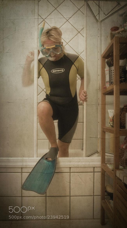Photograph Snorkeling by Violeta Sánchez on 500px