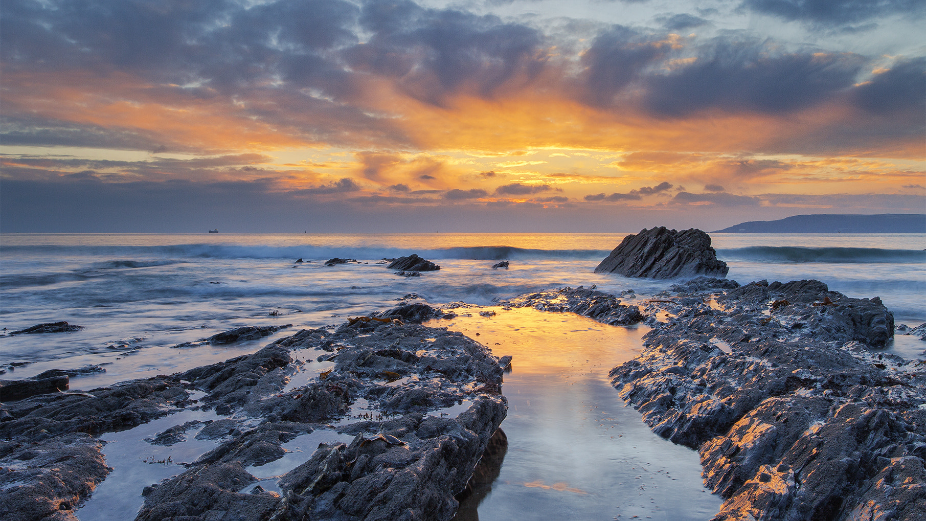 Photograph Cold Tangerine Sky by Chris Marshall on 500px