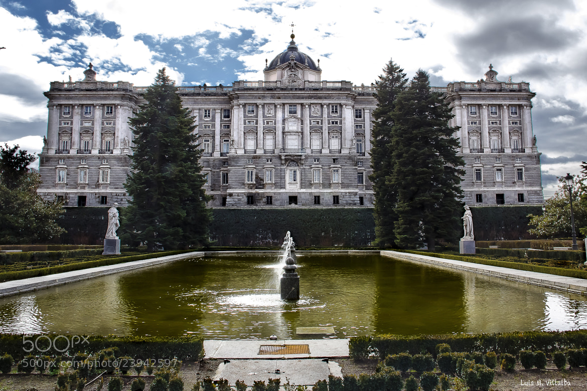 Photograph Royal Palace. Madrid by Luis Miguel Villalba on 500px