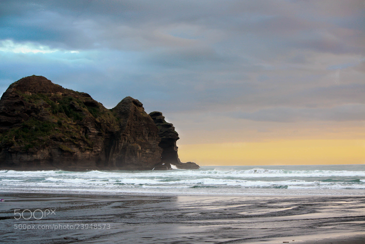 Photograph Piha Beach by Qallam Ahmad on 500px