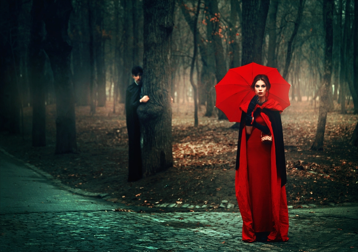 Photograph Little Red Riding Hood I - The Choice by Felicia Simion on 500px