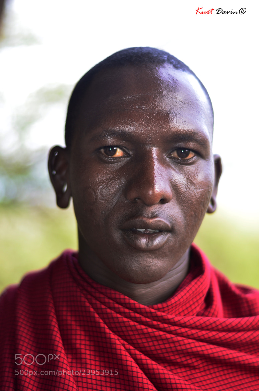 Photograph Masaie Portait 1 by Kurt Davin on 500px