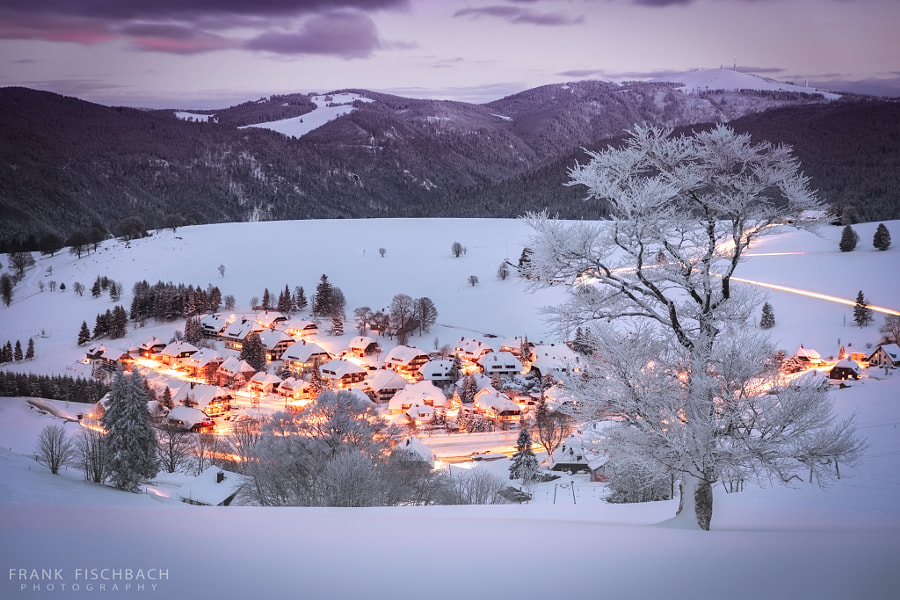 Winter in Black Forest, Germany by Frank Fischbach on 500px.com