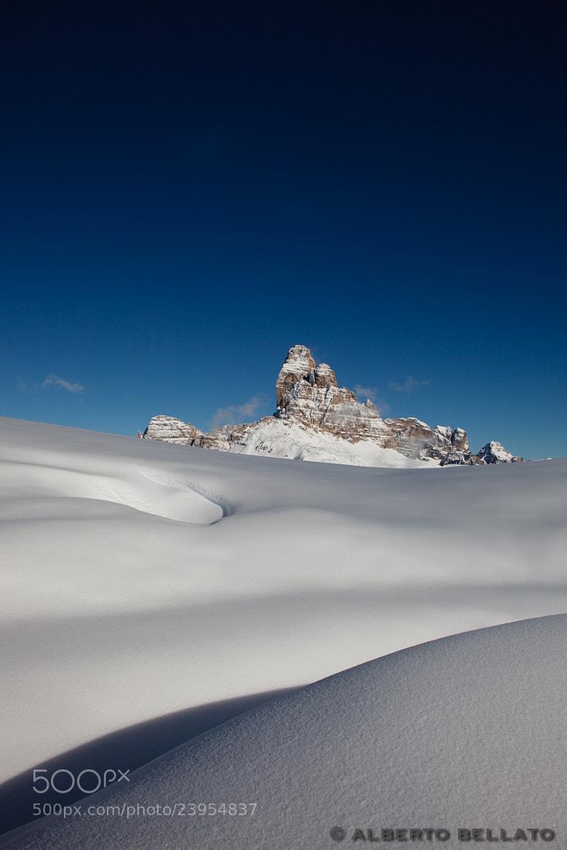Photograph Snow by Alberto Bellato on 500px
