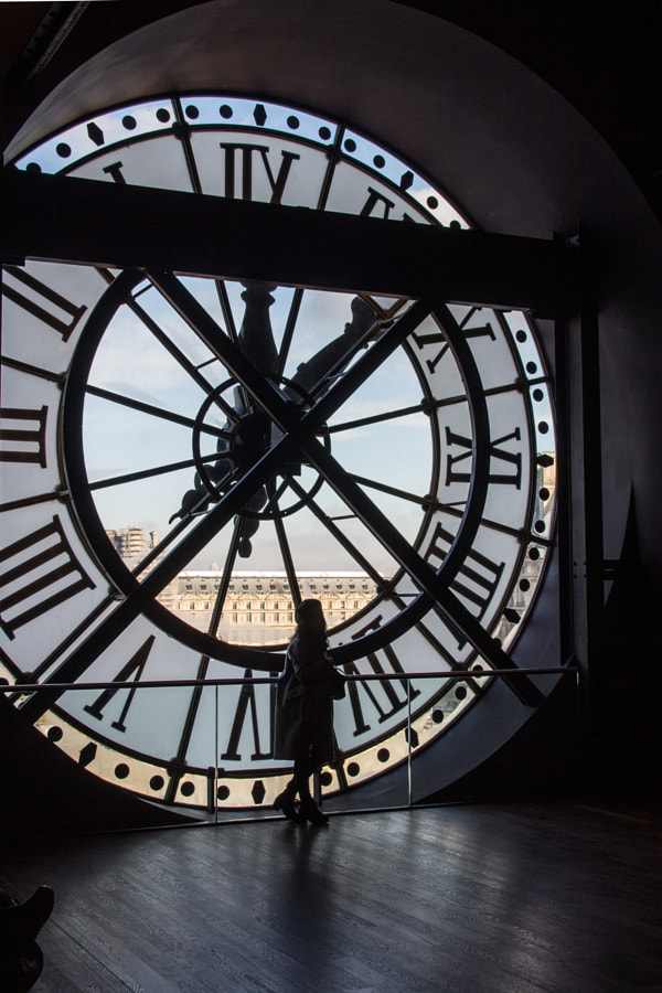 L'horloge (the clock) de Christine Druesne sur 500px.com