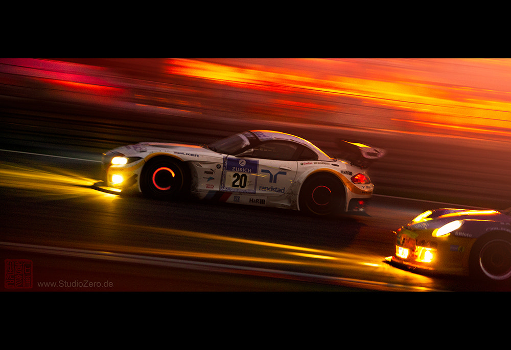 Photograph Schubert BMW Z4 GT3 @ Nürburgring 24h race 2012 by Shurazero Hide Ishiura /  StudioZero.de on 500px