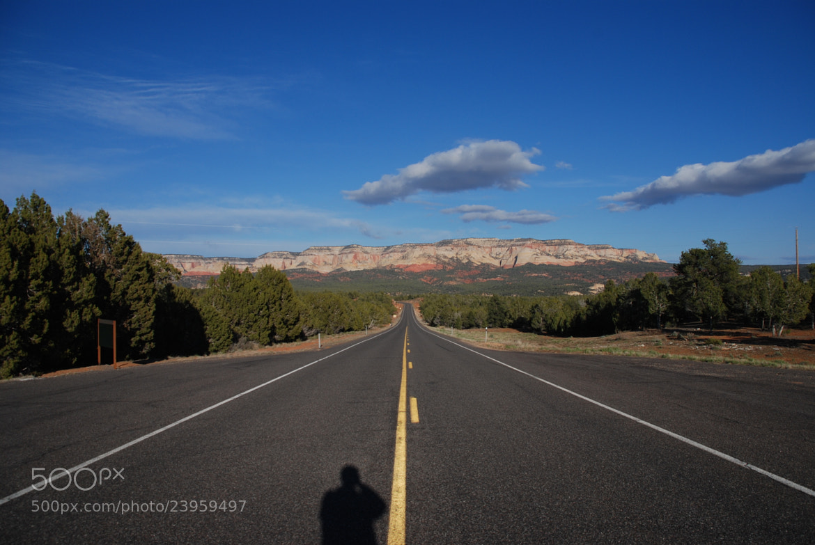 Photograph Middle of the Road near Zion NP by Julius Oklamcak on 500px