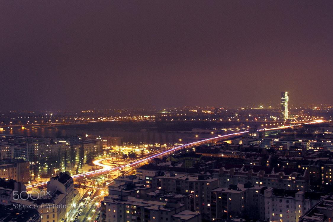 Photograph Vienna at Night by Matthias Zirnig on 500px