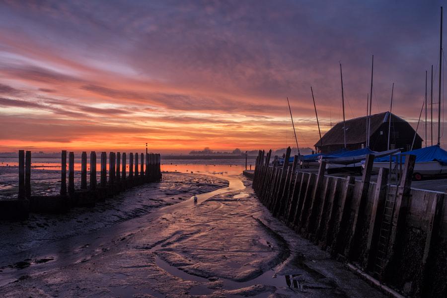 Sunset at Bosham Harbour