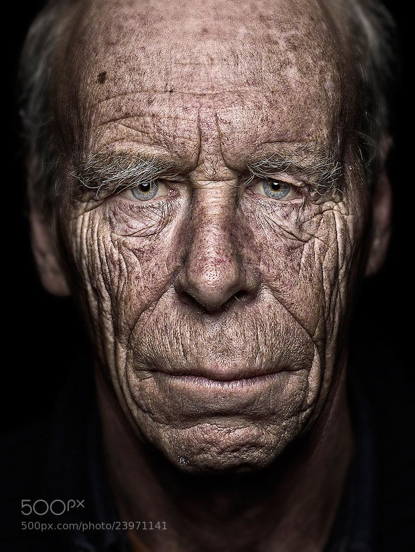 Photograph Hans-Georg Romberg | Blackportrait by Felix Groteloh on 500px