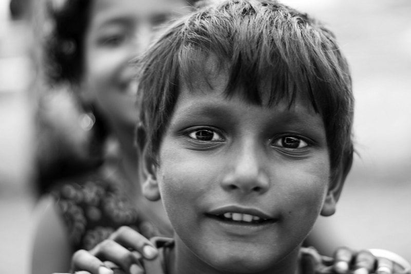 Photograph Smiles at Juhu Beach!  by Matthew  on 500px
