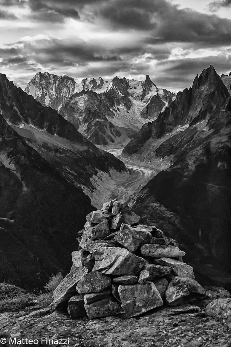 Photograph Cloudy sunrise over Jorasses by Teo Finazzi on 500px
