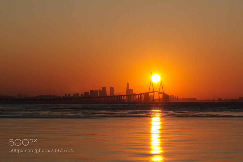 Photograph The bridge and sunrise  by Sungjun Moon on 500px