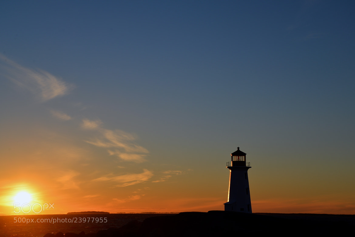 Photograph Peggys Point LIghthouse Sunset by JaBig on 500px