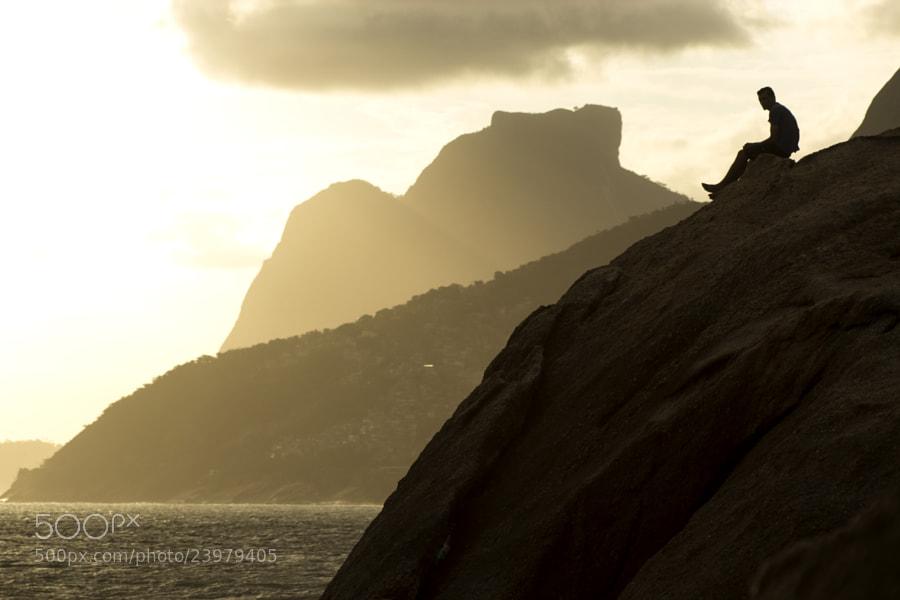 Photograph Arpoador Stone - Rio de Janeiro, Brasil by Jose Roberto Santos on 500px